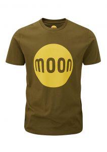 Men's Moon Logo T-Shirt Khaki