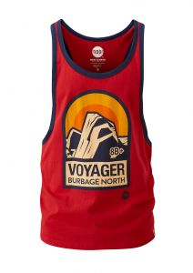 Men's Voyager Vest True Red